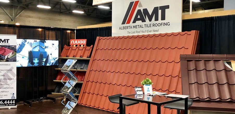 AMT Roofing at the show