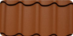 Metal Tile Colour - Terracotta