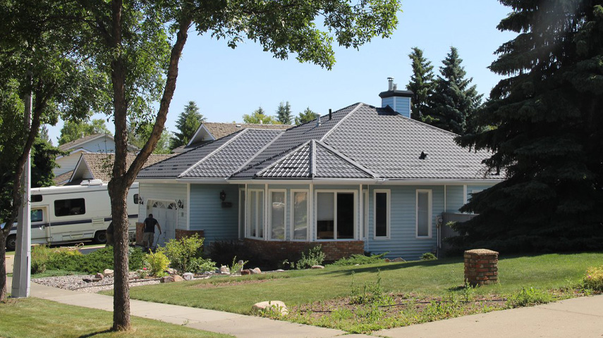 Metal roofing as a problem solution